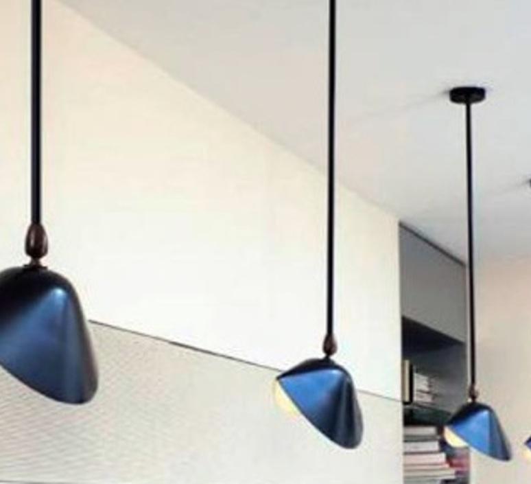2 bras fixes serge mouille editionssergemouille p2b noir luminaire lighting design signed 109165 product