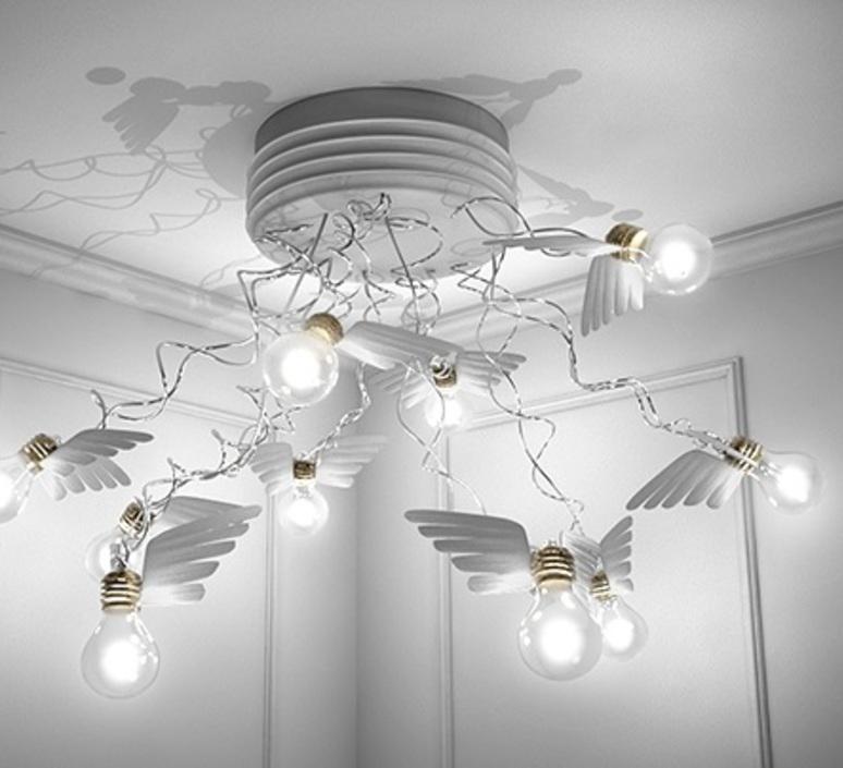 Birdie s nest led ingo maurer plafonnier ceilling light  ingo maurer 1067550  design signed nedgis 64748 product