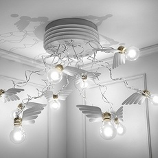 Birdie s nest led ingo maurer plafonnier ceilling light  ingo maurer 1067550  design signed nedgis 64748 thumb