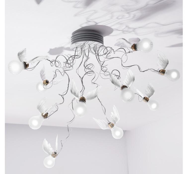 Birdie s nest led ingo maurer plafonnier ceilling light  ingo maurer 1067550  design signed nedgis 64749 product