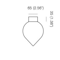 Bob michael anastassiades plafonnier ceilling light  anastassiades ma bcmpbr   design signed 39697 thumb