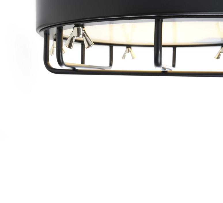 Cantiere alberto ghirardello plafonnier ceilling light  zava cantiere ceilinglight red ral3002  design signed 82585 product