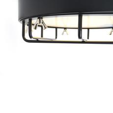 Cantiere alberto ghirardello plafonnier ceilling light  zava cantiere ceilinglight red ral3002  design signed 82585 thumb