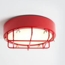Cantiere alberto ghirardello plafonnier ceilling light  zava cantiere ceilinglight red ral3002  design signed 82576 thumb
