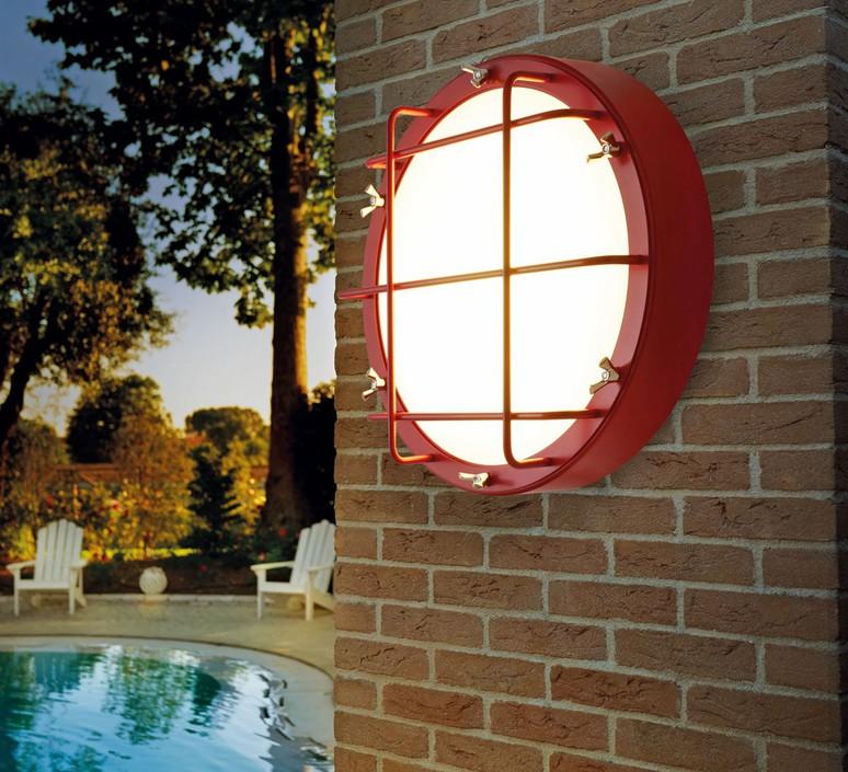 Cantiere alberto ghirardello plafonnier ceilling light  zava cantiere ceilinglight red ral3002  design signed 82578 product