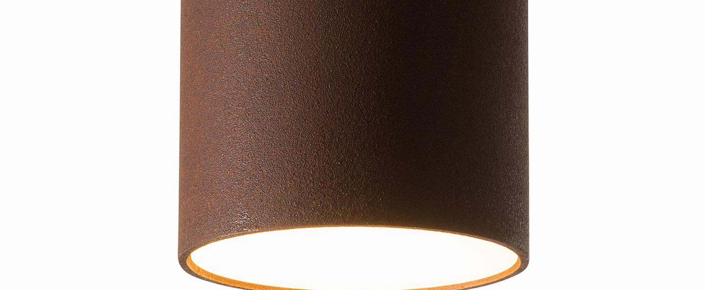 Plafonnier ceiling rouille o11 4cm h20cm graypants normal