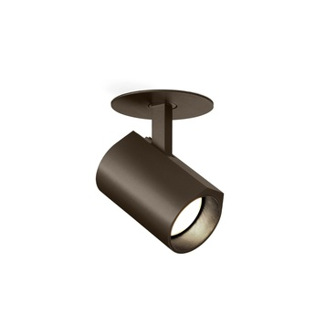 Plafonnier ceno 1 0 bronze led 2700k 440lm o5cm h8cm wever ducre normal