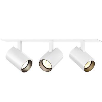 Plafonnier ceno 3 0 blanc led 2700k 3x440lm l23cm h4cm wever ducre normal