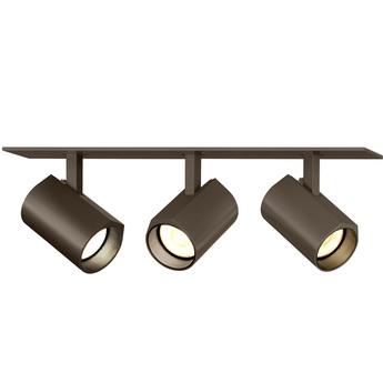 Plafonnier ceno 3 0 bronze led 2700k 3x440lm l23cm h4cm wever ducre normal