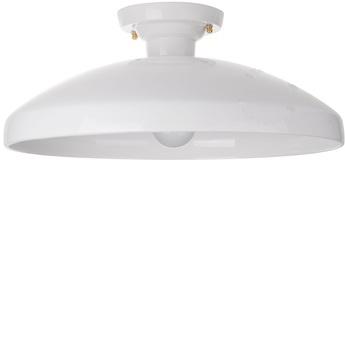 Plafonnier ceramique blanc o42cm h18cm zangra normal