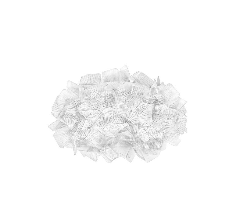 Clizia pixel s adriano rachele plafonnier ceilling light  slamp cli78plf0001px 000  design signed nedgis 66271 product
