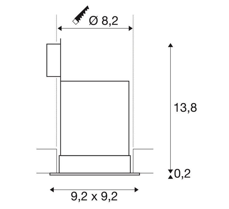 Contone fixe studio slv plafonnier ceilling light  slv 161301  design signed nedgis 93777 product