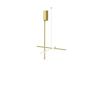 Plafonnier coordinates ceiling 1 champagne led 2700k 2270lm o78 2cm h123 2cm flos normal