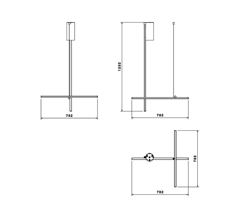 Coordinates ceiling 1 cliii michael anastassiades plafonnier ceiling light  flos f1832044  design signed nedgis 99305 product