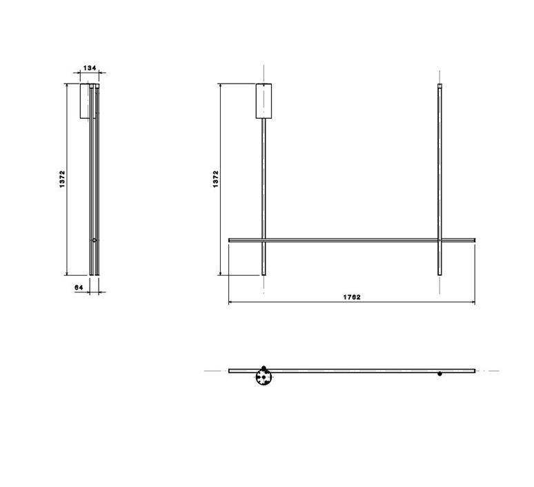 Coordinates ceiling 2 michael anastassiades plafonnier ceiling light  flos f1858044  design signed nedgis 99318 product