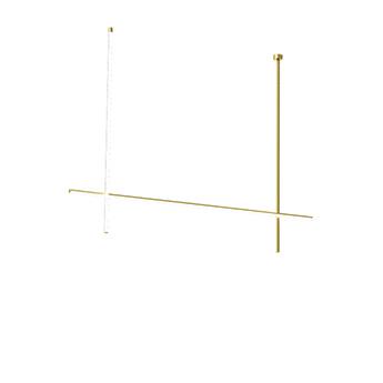 Plafonnier coordinates ceiling 2 cliii champagne led 2700k 3660lm l176 2cm h137 2cm flos normal