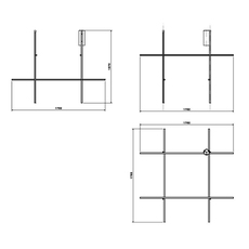 Coordinates ceiling module michael anastassiades plafonnier ceiling light  flos f1883044  design signed nedgis 99354 thumb
