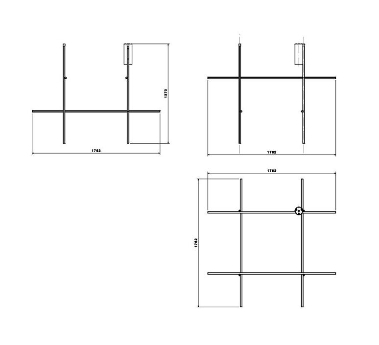Coordinates ceiling module cliii michael anastassiades plafonnier ceiling light  flos f1886044  design signed nedgis 99359 product