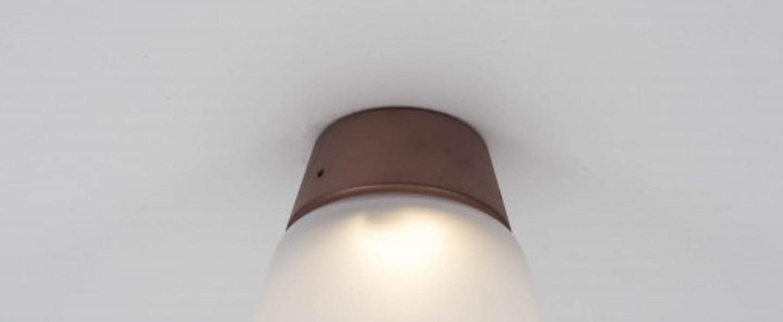 Plafonnier cup cake jenny cuivre led 2700 k 400 lm o13 8cm h16 5cm dark normal