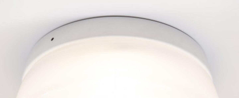 Plafonnier cup cake lucy blanc led 2700 k 1350 lm o24 2cm h11 5cm dark normal