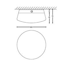Cup cake lucy susanne uerlings plafonnier ceilling light  dark 1072 110 804002 00  design signed nedgis 68155 thumb