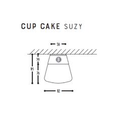 Cup cake suzy susanne uerlings plafonnier ceilling light  dark 1060 03 804002 00  design signed nedgis 68309 thumb