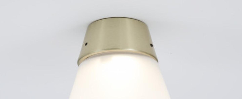 Plafonnier cup cake suzy laiton led 2700 k 400 lm o11 2cm h11 5cm dark normal