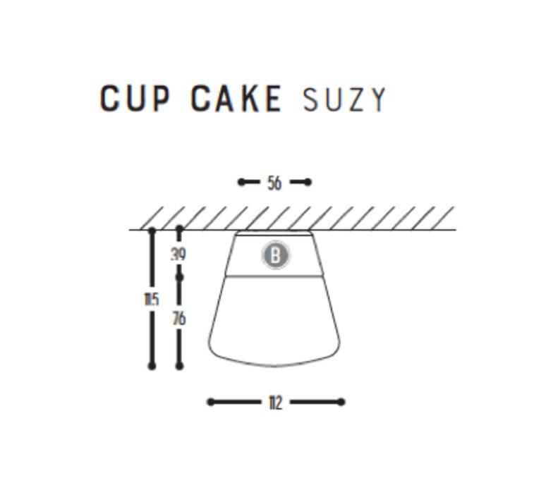 Cup cake suzy susanne uerlings plafonnier ceilling light  dark 1060 110 804002 00  design signed nedgis 68301 product