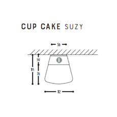 Cup cake suzy susanne uerlings plafonnier ceilling light  dark 1060 110 804002 00  design signed nedgis 68301 thumb