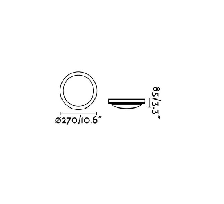 Dakron  plafonnier ceilling light  faro 70722  design signed nedgis 68469 product