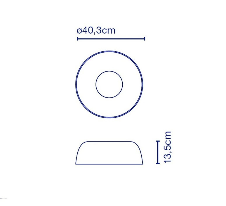 Djembe 42 13 joan gaspar plafonnier ceilling light  marset a681 103  design signed 89875 product