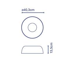 Djembe 42 13 joan gaspar plafonnier ceilling light  marset a681 103  design signed 89875 thumb
