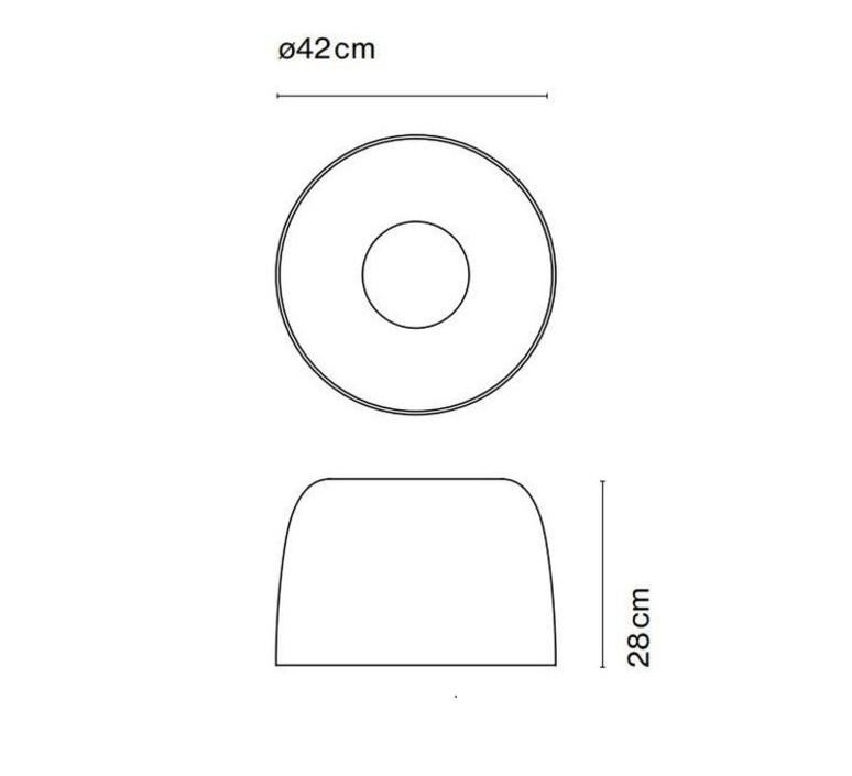 Djembe 42 28 joan gaspar plafonnier ceilling light  marset a681 110  design signed 86596 product