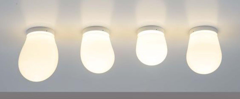 Plafonnier dropz transparent o10 5cm h15cm dark normal