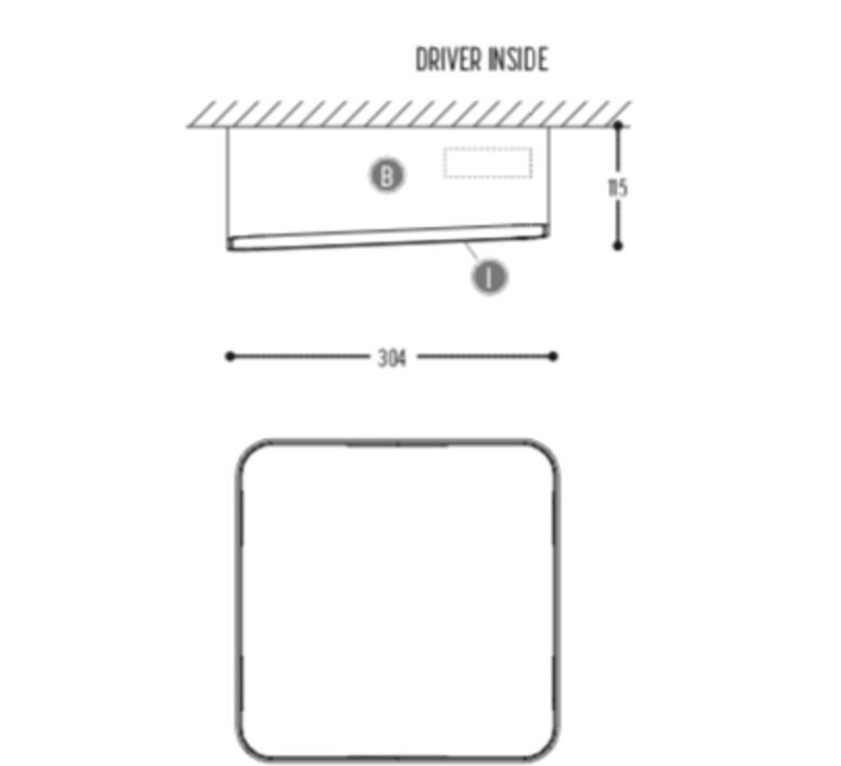 Edgar square box1 susanne uerlings plafonnier ceilling light  dark 941 02 809003 00 w 0  design signed nedgis 69067 product