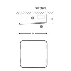 Edgar square box1 susanne uerlings plafonnier ceilling light  dark 941 02 809003 00 w 0  design signed nedgis 69067 thumb