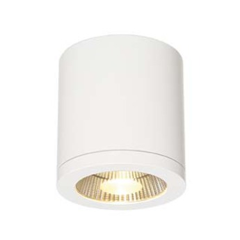 Plafonnier exterieur outdoor enola c blanc 30 ip55 led h12cm o10cm slv normal