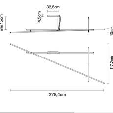 Freeline flynn talbot plafonnier ceilling light  fabbian f44 e02 76  design signed nedgis 69549 thumb