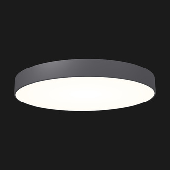 Plafonnier full moon 1100 anthracite led o110cm h11 8cm doxis normal