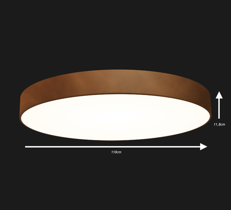 Full moon 1100 studio doxis plafonnier ceilling light  doxis 1100 led s 840 15 d  design signed 36408 product