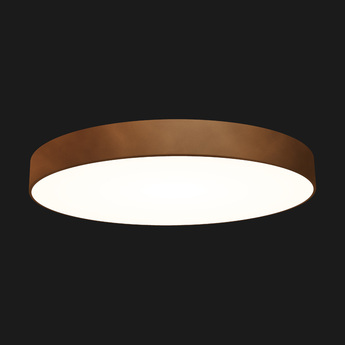 Plafonnier full moon 1100 corten led o110cm h11 8cm doxis normal