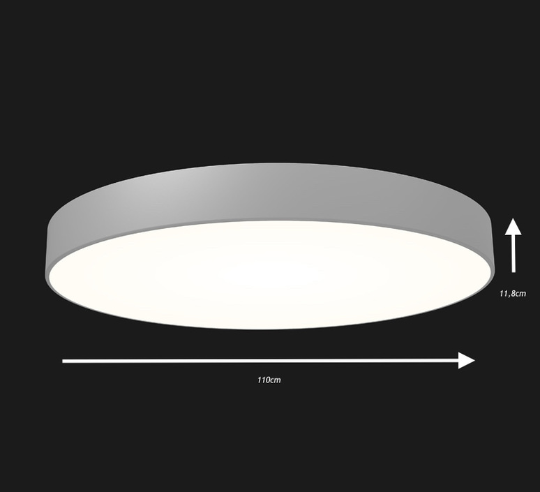 Full moon 1100 studio doxis plafonnier ceilling light  doxis 1100 led s 840 18 d  design signed 36404 product