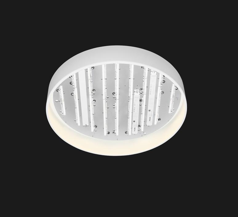 Plafonnier full moon 600 blanc led 12100lm 3000k o60cm h11 8cm doxis 55924 product