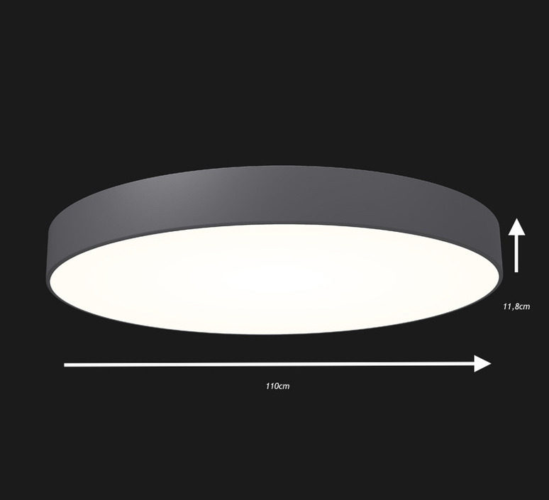 Full moon optimal 1100 studio doxis plafonnier ceilling light  doxis 1100 led h 840 07 d  design signed 36416 product
