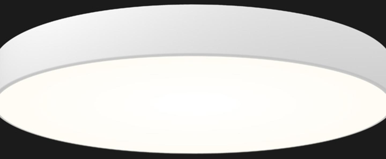 Plafonnier full moon optimal 1100 blanc led o110cm h11 8cm doxis normal