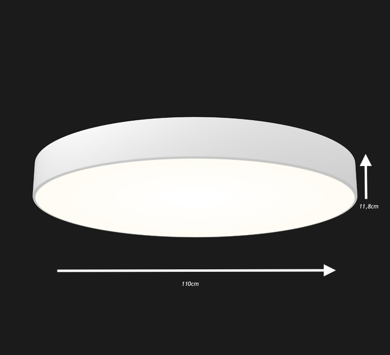 Full moon optimal 1100 studio doxis plafonnier ceilling light  doxis 1100 led h 840 01 d  design signed 36412 product
