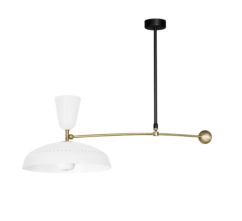 G1 guariche  pierre guariche plafonnier ceilling light  sammode g1susp wh wh  design signed nedgis 84418 product