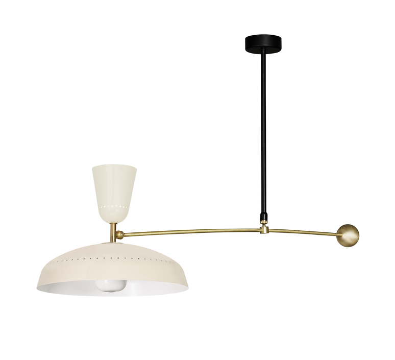 G1 guariche  pierre guariche plafonnier ceilling light  sammode g1susp ch wh  design signed nedgis 84421 product