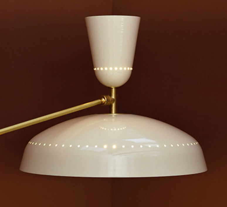 G1 guariche  pierre guariche plafonnier ceilling light  sammode g1susp ch wh  design signed nedgis 84422 product
