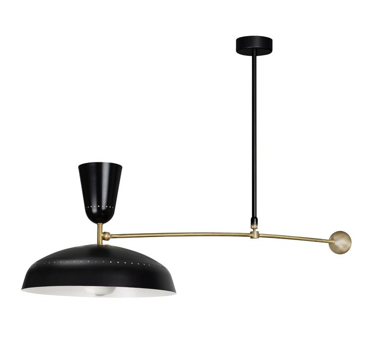 G1 guariche  pierre guariche plafonnier ceilling light  sammode g1susp bk wh  design signed nedgis 84430 product